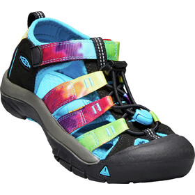 Keen Newport H2 Chaussures Adolescents, rainbow tie dye